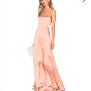 NWT lovers + friends The Slip Dress in Nude